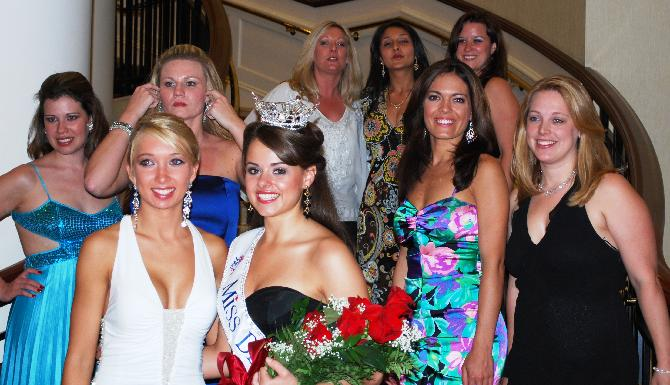 Miss Delawares after the 2008 pageant